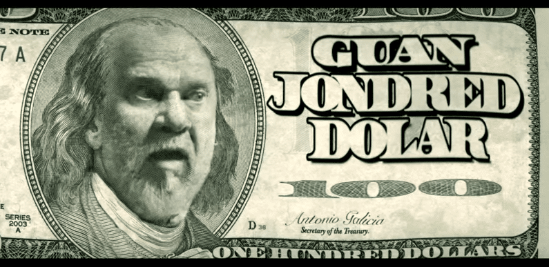 Guan Jondred Dollars